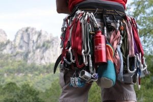 image of climbing gear