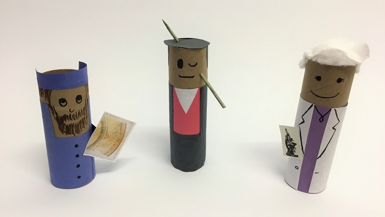 Image of Paper Roll Neuroscientists