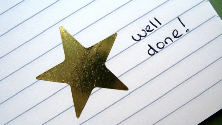 image of paper with a star on it