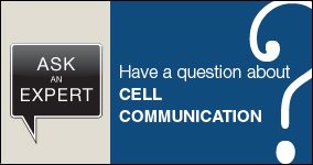 Ask an expert. Submit a question about cell communication.