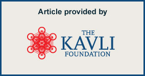 Article provided by the Kavli Foundation