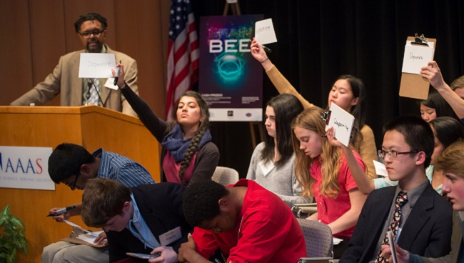 Students Compete in 2014 DC Brain Bee