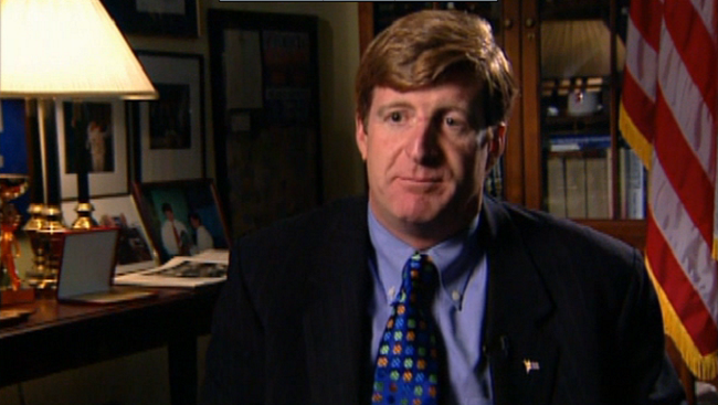 Patrick Joseph Kennedy II, the former U.S. Representative for Rhode Island's first congressional district