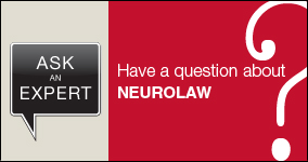 Ask an expert. Submit a question about neurolaw.