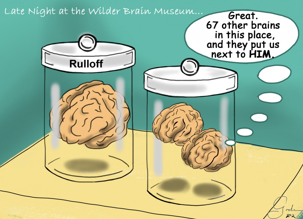 Brains in containers