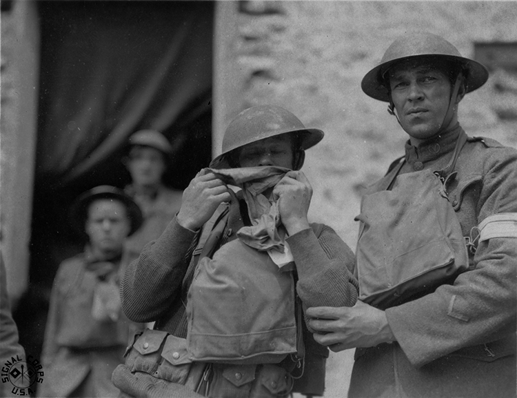 WW1 Soldier with PTSD