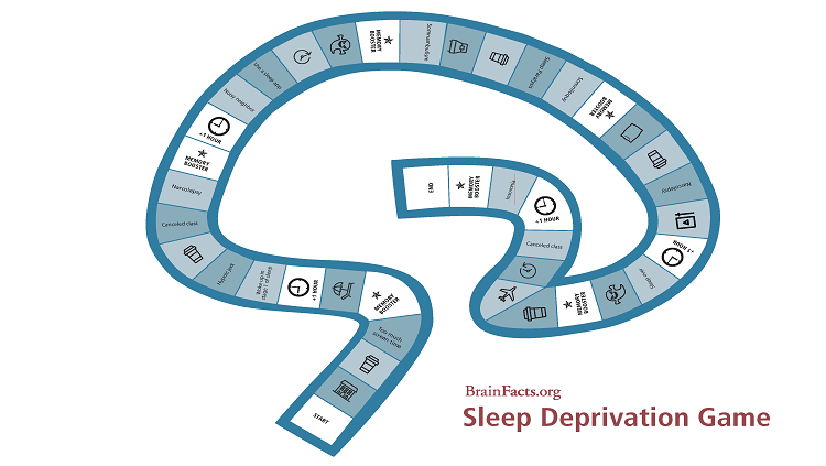 image of sleep board game