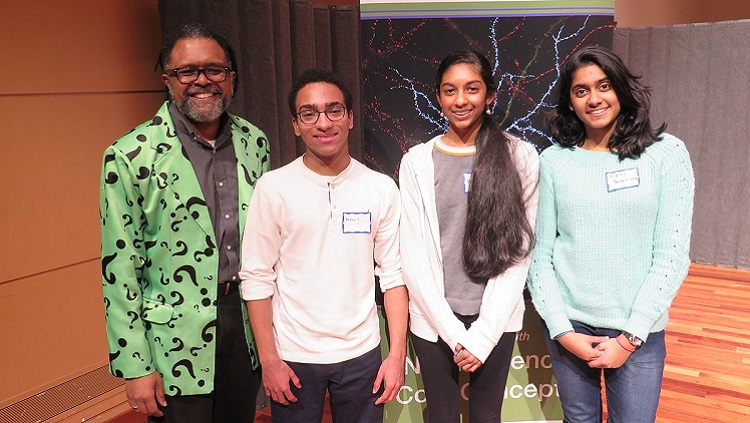 Photograph of Brain Bee winners