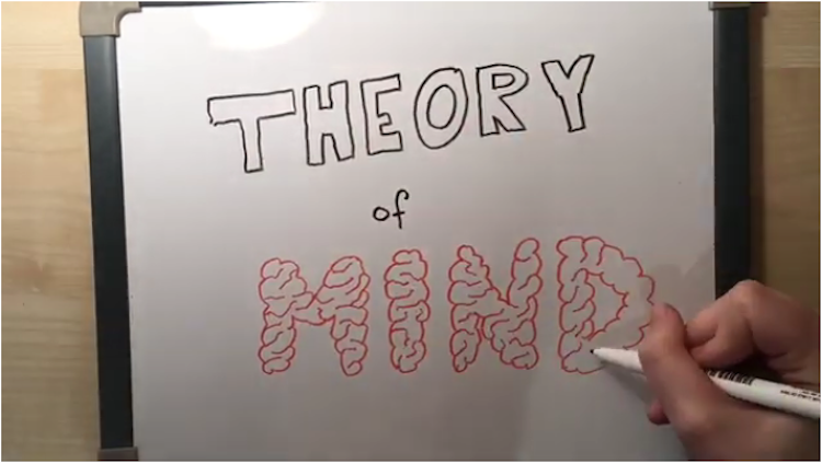 text theory of mind written on whiteboard