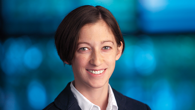 Photo of neuroscientist Danielle Bassett.