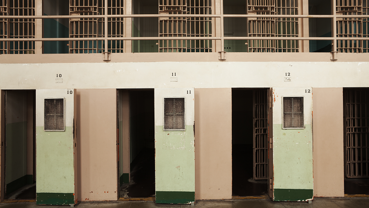Photograh of jail cells