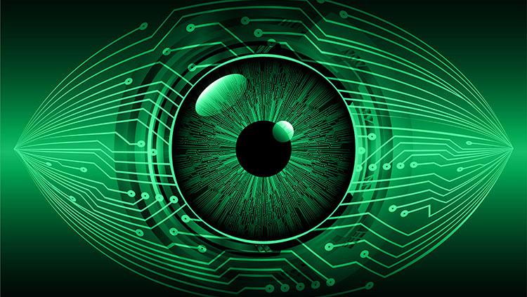 Bionic Green Eye