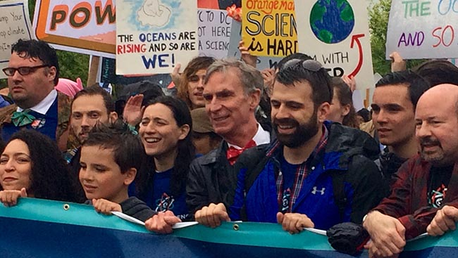 Bill Nye leads March for Science in Washington, D.C.