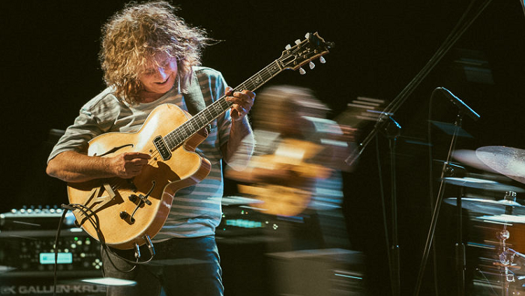 Pat Metheny Playing a Concert in Poland