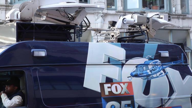TV trucks