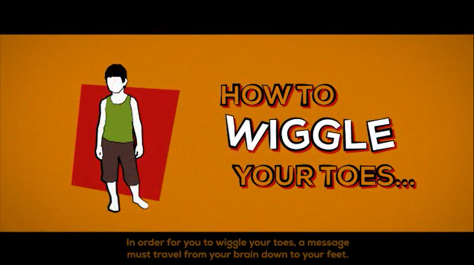 How To Wiggle Your Toes