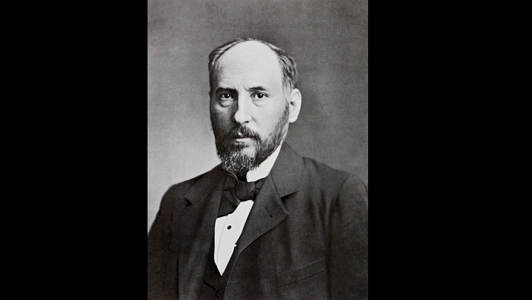 black and white photo of santiago ramon y cajal