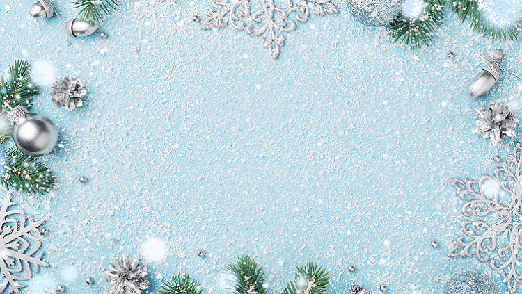 Image of snowflakes on snow