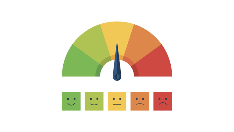 Image of a pain scale